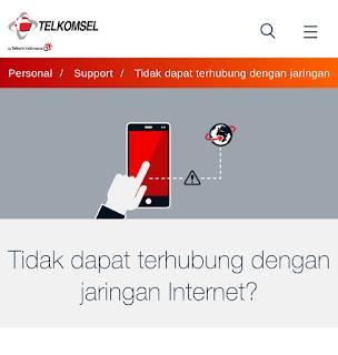 Cara Mengatasi Paket Data Aktif Tapi Tidak Bisa Internetan Telkomsel
