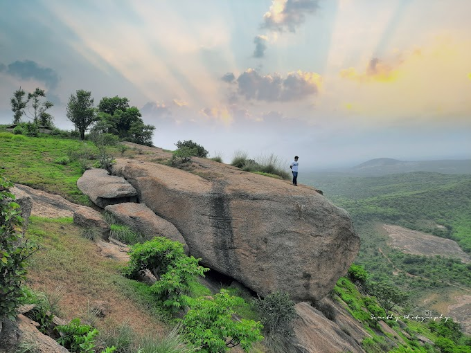 The day trek to Handi Gundi Betta