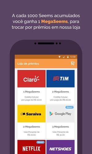 Meseems. aplicativo de pesquisas online no celular