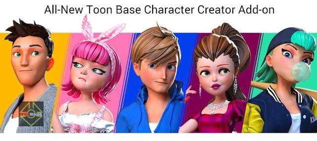 Cartoon Character Designer