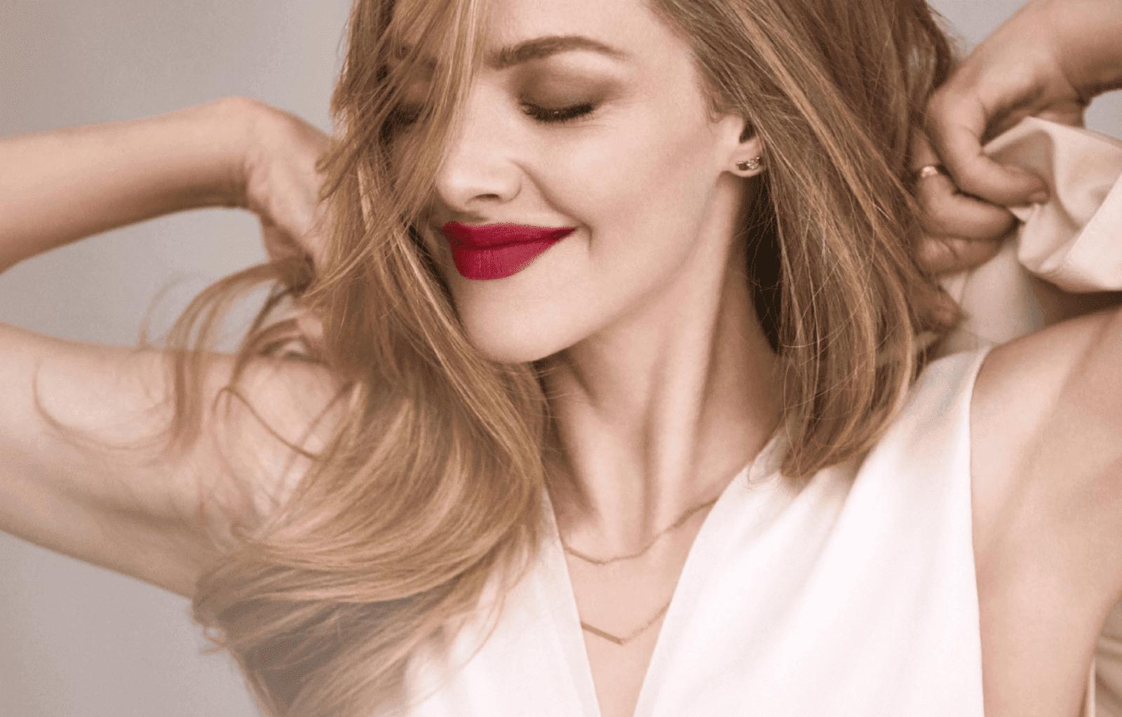 Lancôme L'Absolu Rouge Intimatte Amanda Seyfried