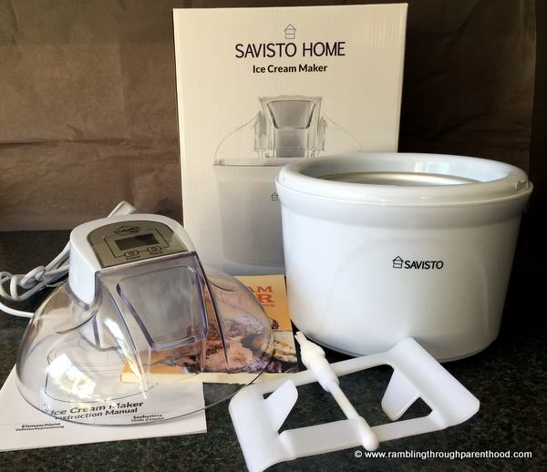 Savisto 1.5 litre ice cream maker