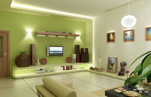 Đèn thả có thể sử dụng tại vị trí sofa, khung cửa sổ, kệ để đồ. Ngoài ra kết hợp với các mẫu đèn gắn tường cũng sẽ tạo lên không gian phòng khách đẹp.