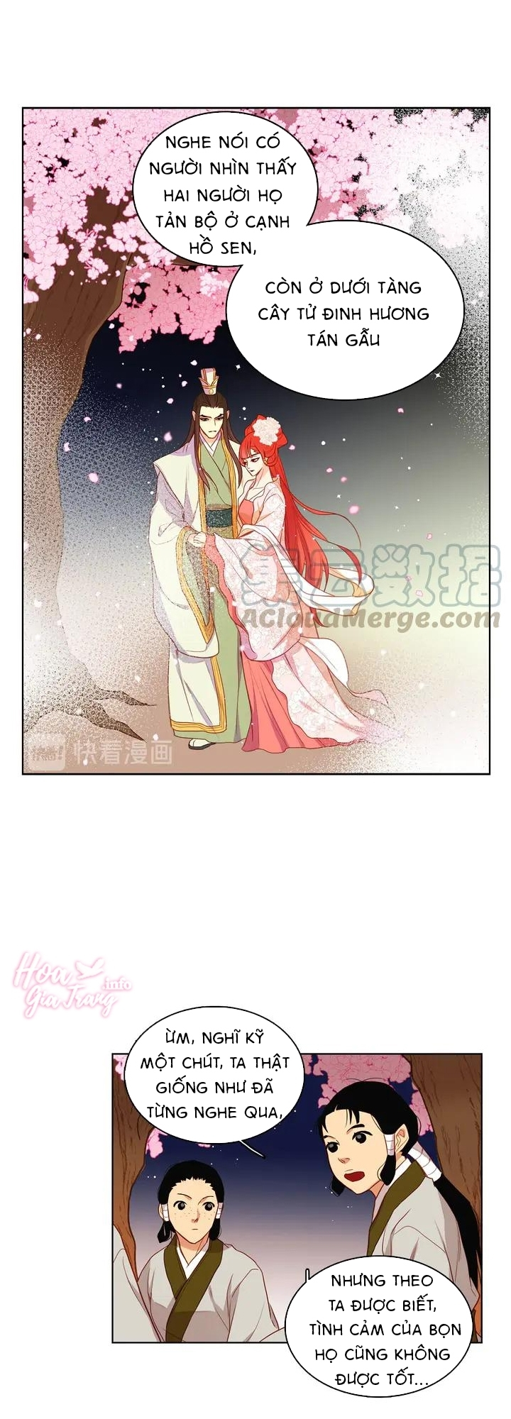 Ác Nữ Hoàng Hậu Chapter 130 - Trang 6
