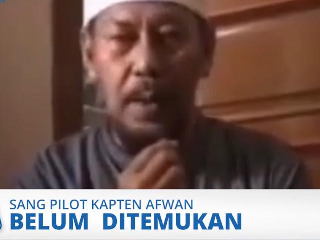 Saat Sang Kopilot Diego Mamahit Teridentifikasi, Kapten Afwan Pilot Sriwijaya Air Masih Terus Dicari