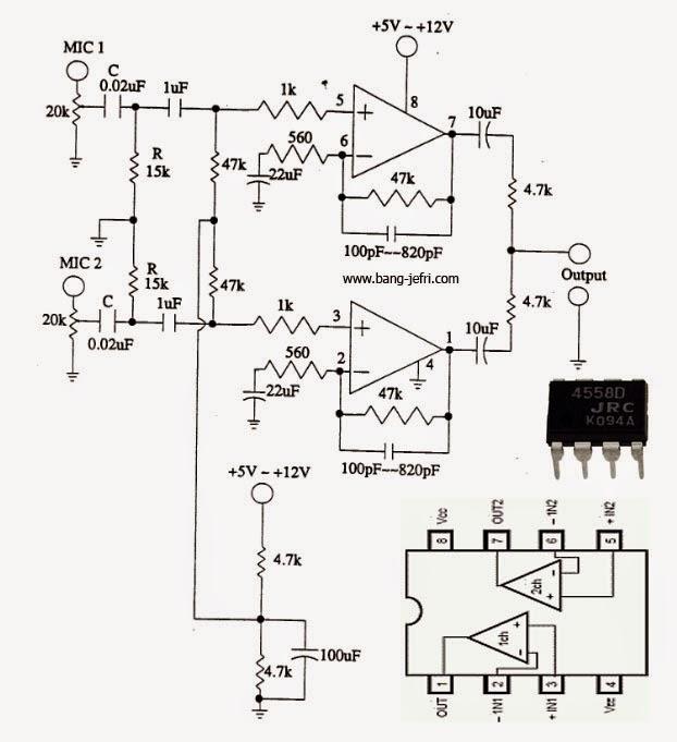 Tone Control Preamp