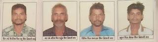 किराना दुकान में चोरी करने वाले पाँच चोर गिरफ्तार,भेजे गए जेल