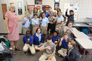 Montgomery Catholic Middle Schoolers Learn to Craft by Design 1