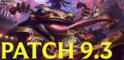 league of legends patch 9.3 download