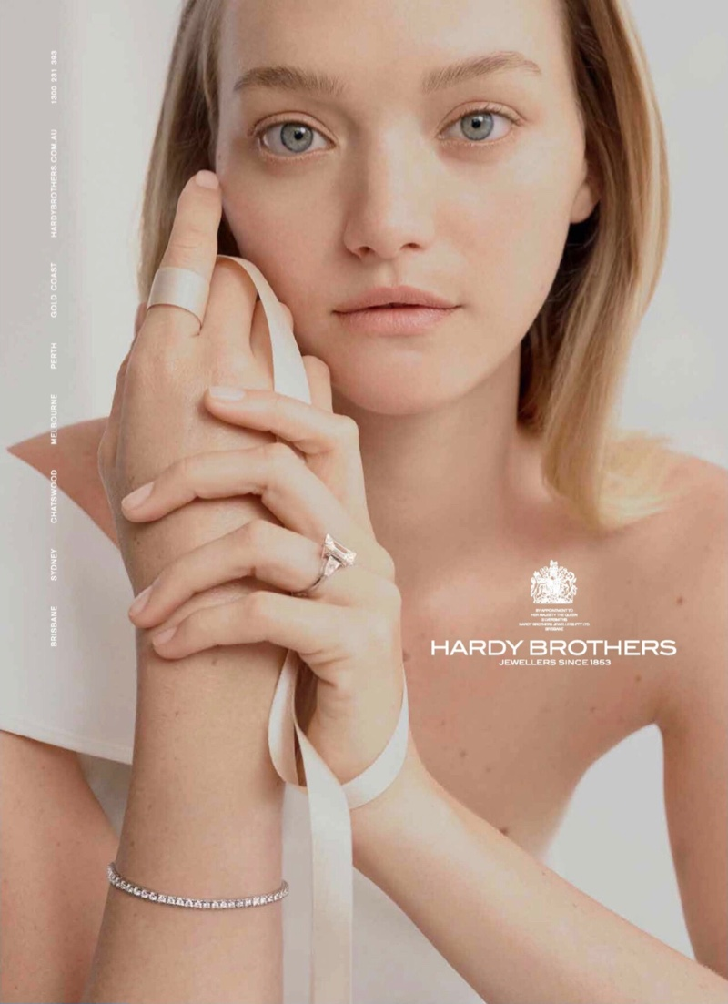 Gemma Ward for Hardy Brothers Jewellers Wedding 2019