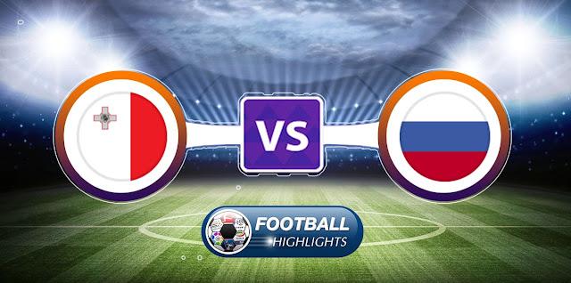 Malta vs Russia – Highlights