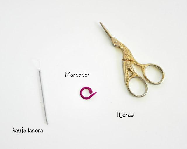 tijeras-marcador-aguja lanera