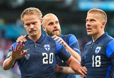 ملخص وهدف فوز فنلندا علي الدنمارك (1-0) كاس امم اوروبا