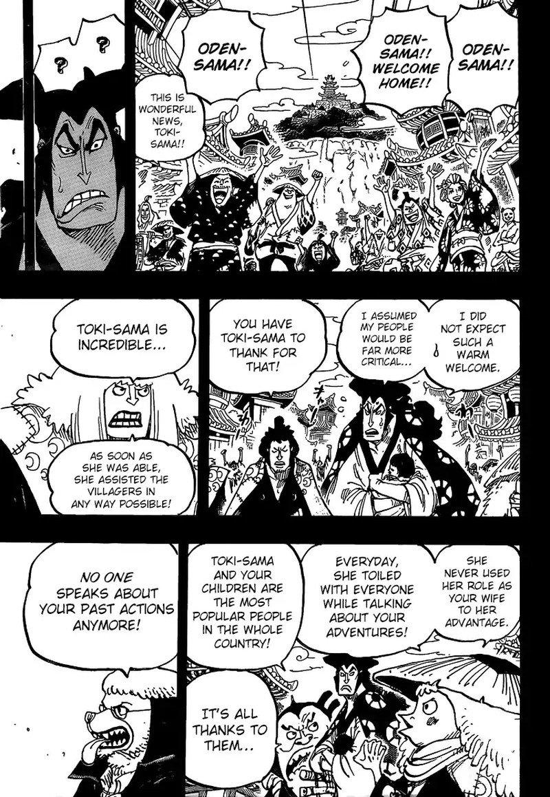 One Piece Manga Chapter 968 - Image 009