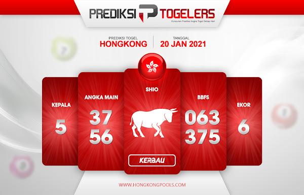 Prediksi Togelers HK 20 Januari 2021 Hari Rabu