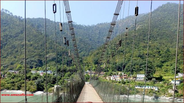 झूला पुल कल्यासौड़