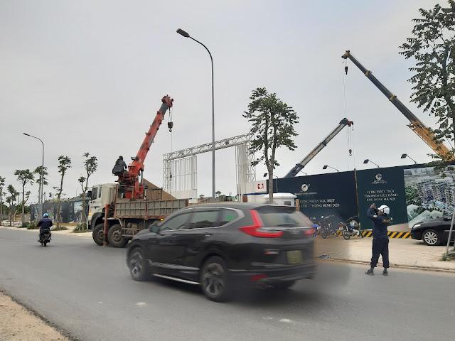 Tiến độ tháng 12 dự án chung cư Sunshine Green Iconic Phúc Đồng Long Biên