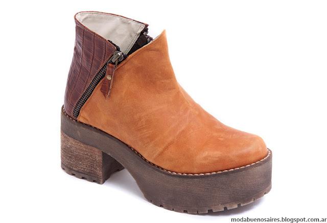 Botas invierno 2016 Traza Calzados. Moda invierno 2016 botas.