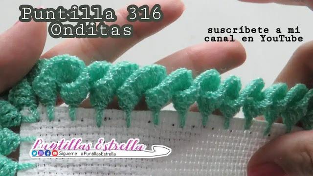 Cómo Tejer una Puntilla con Onditas a Crochet
