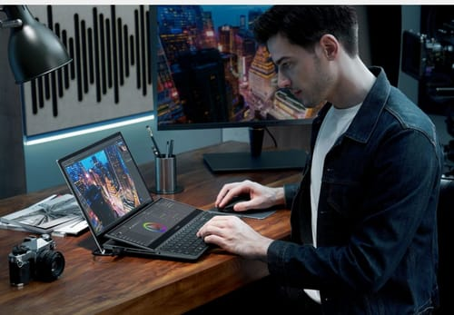 Asus announces dual-screen hardware ZenBook