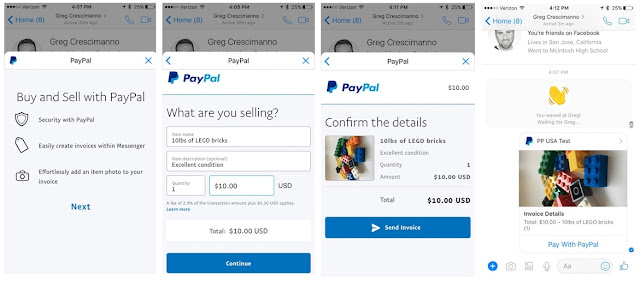 facebook-messenger-paypal