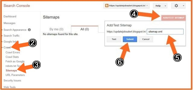 Sitemap Ko Google Search Console Me Submti Kaise Kare