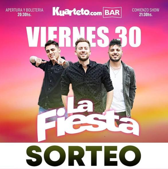 Sorteo de Kuarteto Bar en Instagram