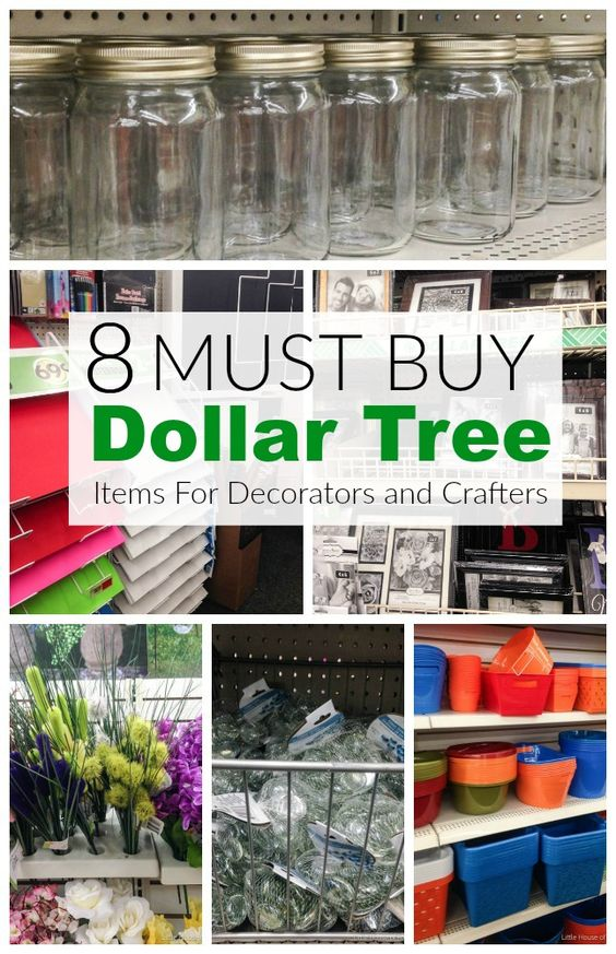8 MUST BUY Dollar Store items for Decorators and Crafters