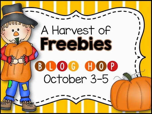 A Harvest of Freebies Blog Hop