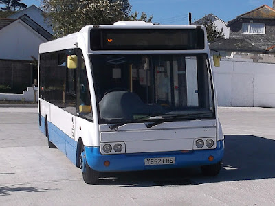 St Ives Cornwall - Buses - Local Services