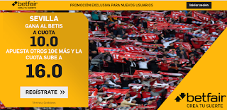 betfair supercuota liga Sevilla gana Betis 11 junio 2020
