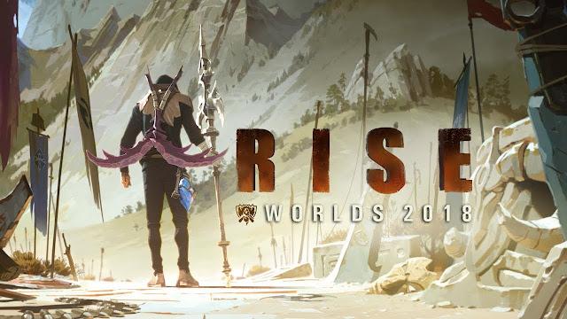 2018 英雄聯盟世界賽主題曲 「RISE」英文&中文歌詞