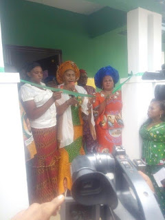 Photos: Governor Obiano's Wife Donates House To A Widow In Anambra State