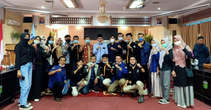 DPRD Sungai Penuh Hearing Aliansi Mahasiswa Kerinci Perantauan se-Indonesia