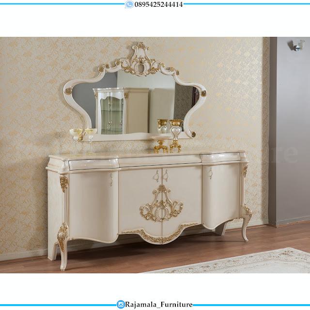 Meja Konsul Mewah Terbaru Luxury Classic Model Furniture Termewah RM-0470