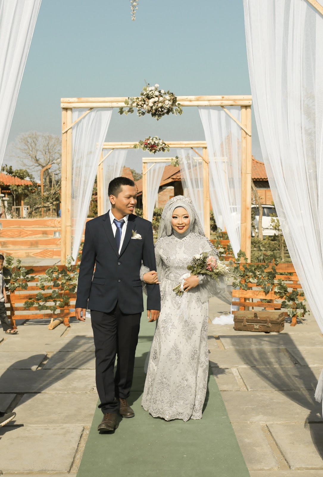 wedding dress inspiration, hijab wedding dress