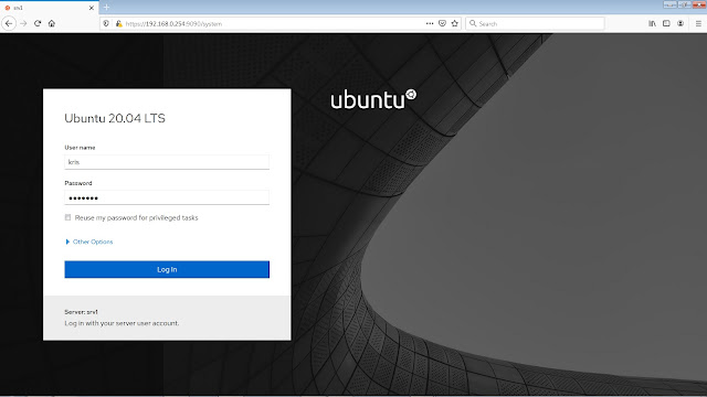 Cara Install Cockpit di Ubuntu Server 20.04