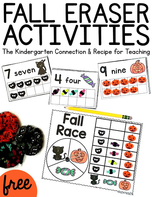 http://thekindergartenconnection.com/halloween-counting-cards/