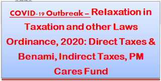 covid-19-outbreak-finance-ministry-relaxation-in-raxation-and-other-laws-direct-indirect-taxes-benami-pm-cares-fund
