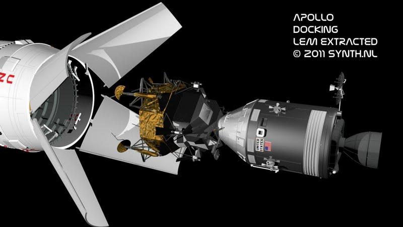 stages of apollo spacecraft docking - photo #38