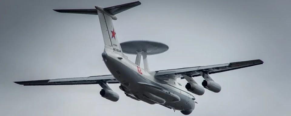 Росія розміщує на західному кордоні літаки дальнього радіолокаційного виявлення А-50
