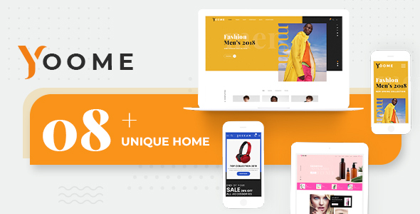 Yoome Modern WooCommerce Responsive WordPress Themes