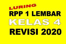 RPP LURING 1 LEMBAR KELAS 4 TEMA 5 REVISI 2020