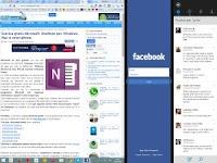 App Windows 10 e 8.1 da tenere aperte di lato sullo schermo