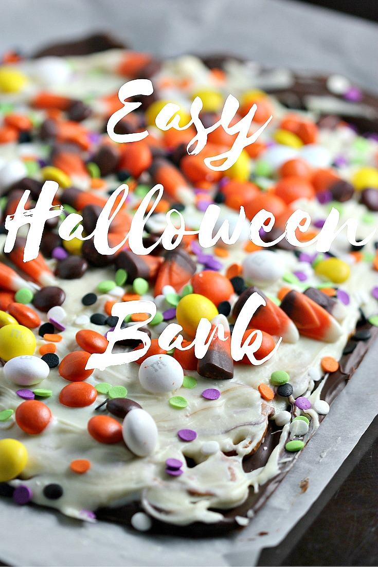 Easy Halloween Bark Recipe