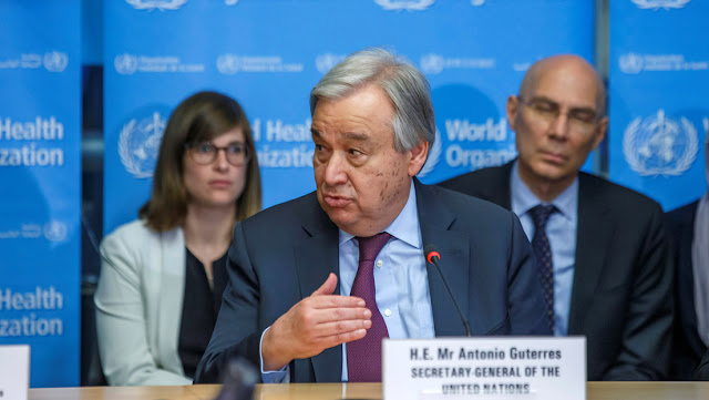 La ONU pide poner fin a las guerras en todo el mundo para enfrentar el coronavirus