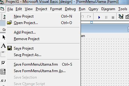 Turorial Membuat Program Menjadi File Exe Program Penjualan VB 6.0 - Part22