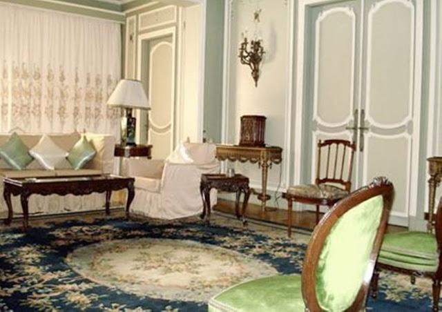 منزل عبد الحليم حافظ من الداخل