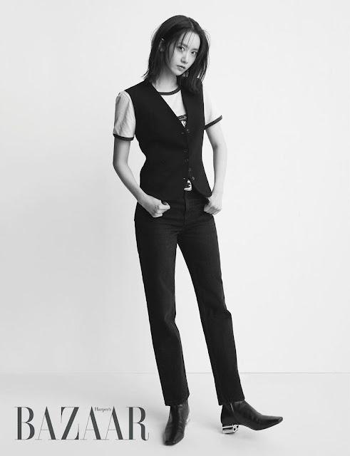 SNSD YoonA Harper's Bazaar