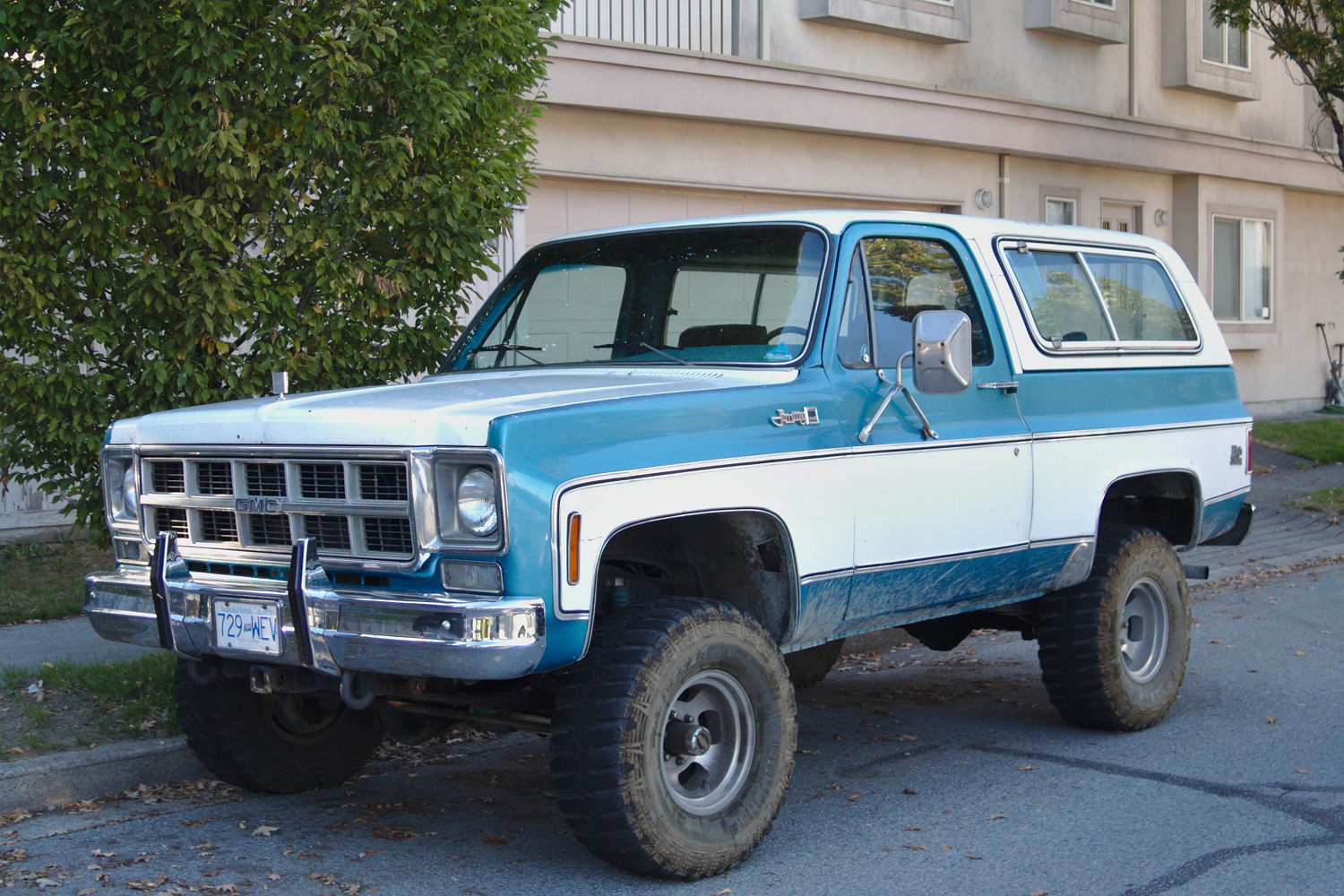 Old Parked Cars Vancouver 1978 Gmc Jimmy High Sierra